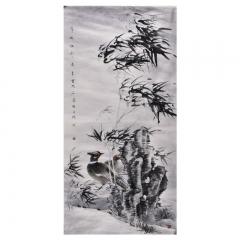 陈远东 清风摇影 136×68cm