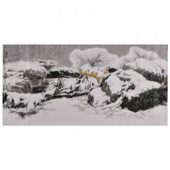 李廷先 柴园 68×168cm